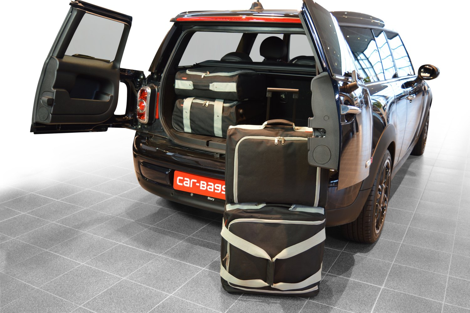 car bags clubman r55 carbags. Black Bedroom Furniture Sets. Home Design Ideas